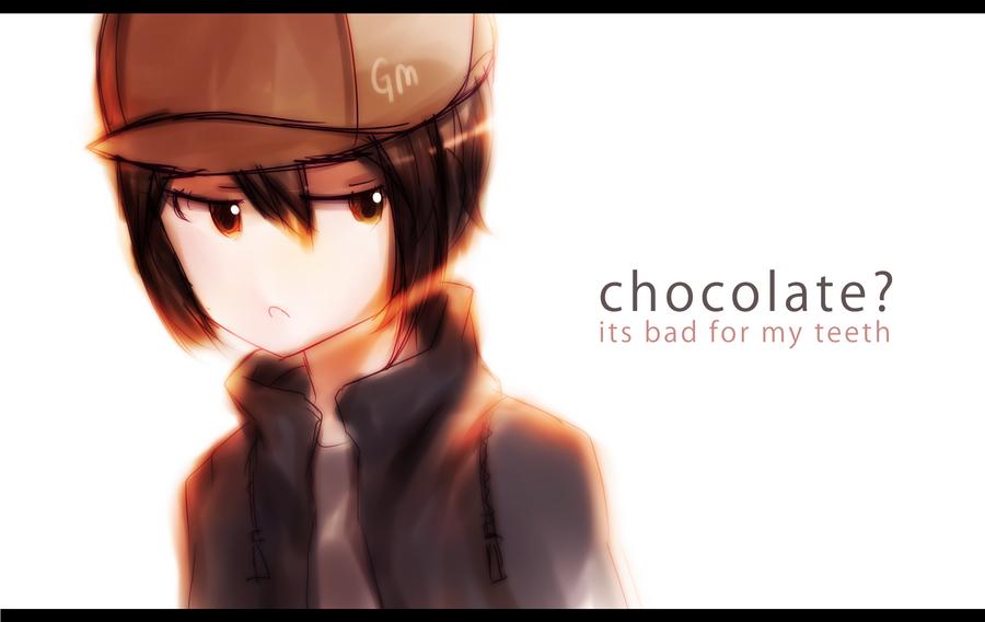 Doodle 009: chocolate? by GenericMav