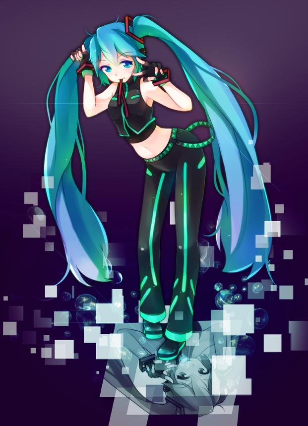 Hatsune Miku- Dancer by GenericMav