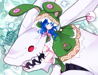 dateAlive: Yoshino (and bunnieh :w) by GenericMav