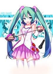 Hatsune Miku - Galaxy by GenericMav