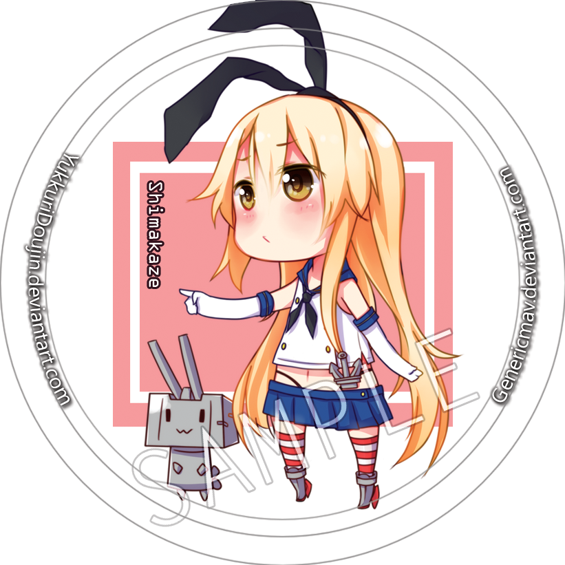 AMG badge: Shimakaze by GenericMav