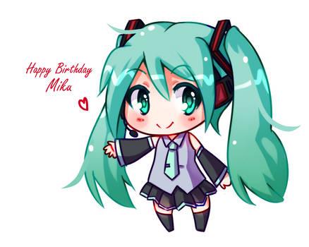 Happy Birthday Miku