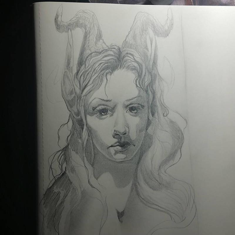 La Fauna sketch by InuRyoko