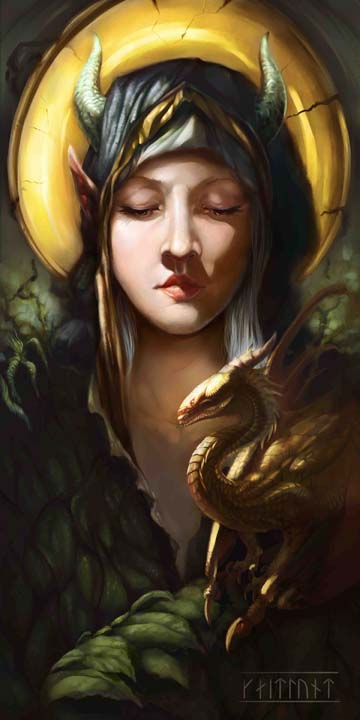 Draconus Angelus - Kickstarter teaser by InuRyoko