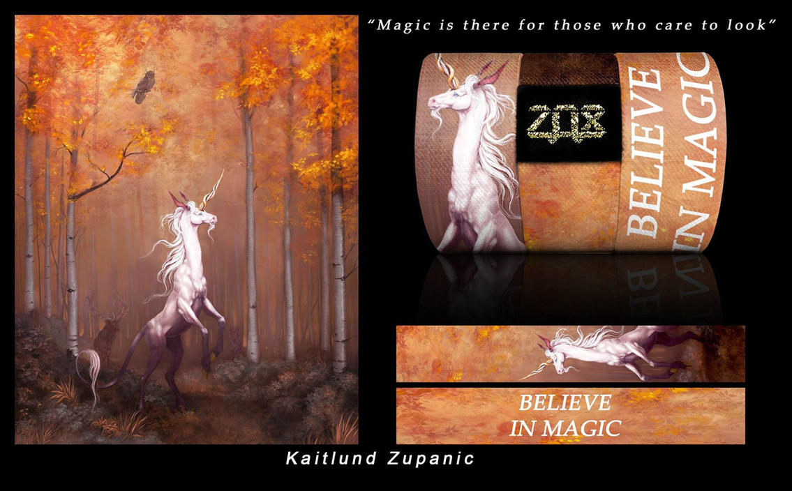Zox Believe in Magic band by InuRyoko