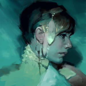 Digital Painting - Real Time - After Jeremy Mann