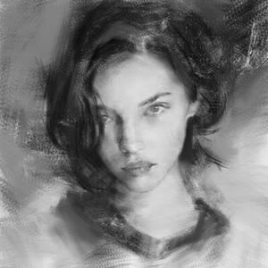 Digital Speed Painting - after Wangjie Li