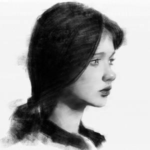 Digital Painting - Real Time - After Yizheng Ke