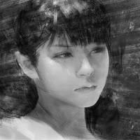 Real Time Digital Painting After Wangjie Li