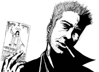 Constantine Ink practice by BeryllBat