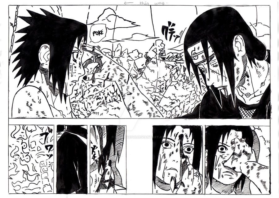 Sasuke vs Itachi 2 by itachi45140 on DeviantArt