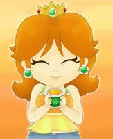Orange Princess by MarioSonicfans2000