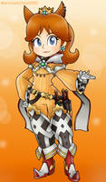 Princess Daisy as Nia by MarioSonicfans2000