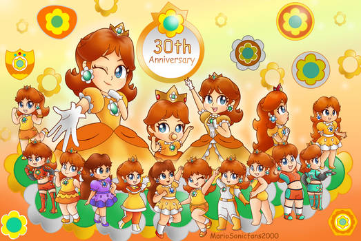 Princess Daisy 30th Anniversary~