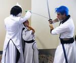 Otakon 2012 Ulquiorra, Orihime and Grimmjow 2