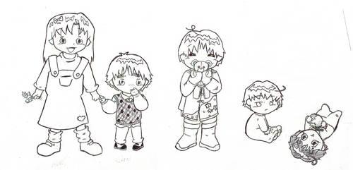 Hetalia Kids - by request by SlashmasterAeon