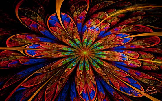 Fractal Flowers:  Five