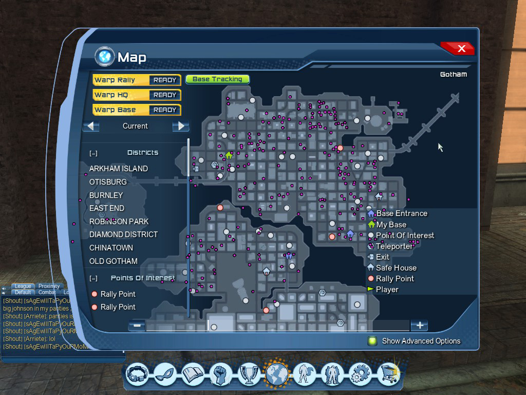 DCUO: Exobit Locations Gotham by evilfuzzle2 on DeviantArt