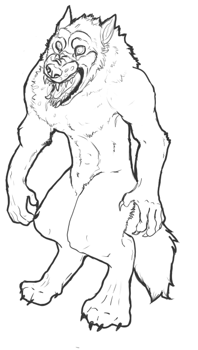 Werewolf premade - open by Ziddacus
