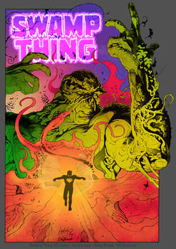 Swampthing #20 recolor