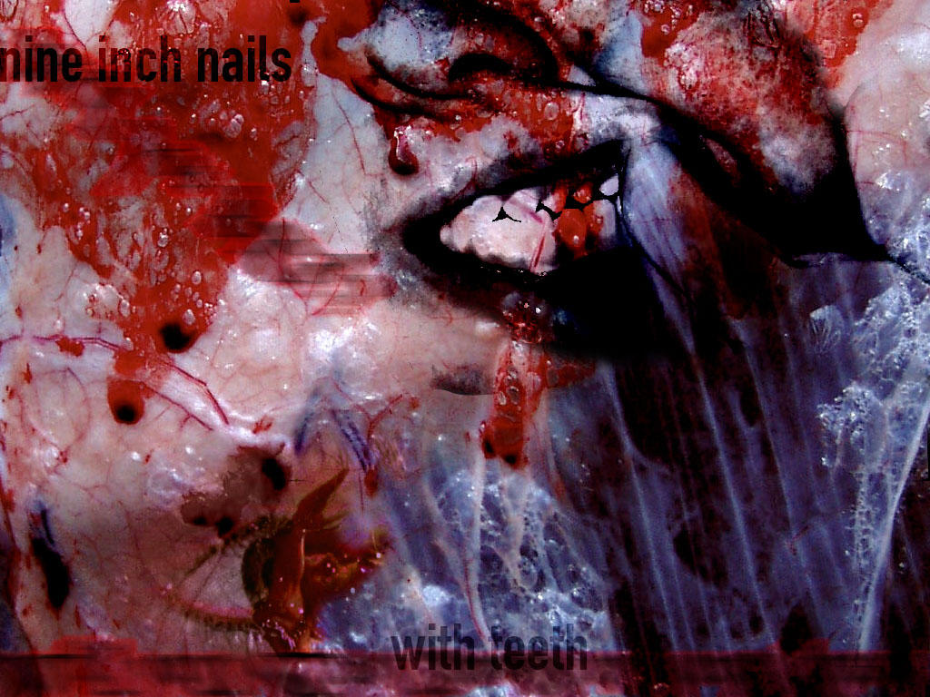 nine inch nails - with teeth by zodiacus on DeviantArt