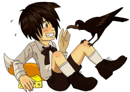 The Crow and the Foxboy
