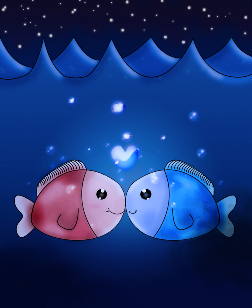 Love fish by citronade arts on deviantart for I love the fishes