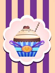 Cup Cakes : Choco Loveur by Citronade-Arts
