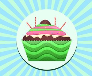 Cup Cakes : Festa Exotic by Citronade-Arts