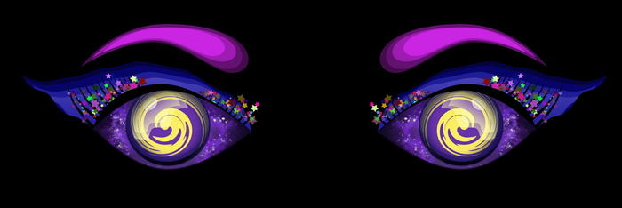 Design' eye Cosmic-mos by Citronade-Arts