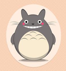 Kawaii : Totoro by Citronade-Arts