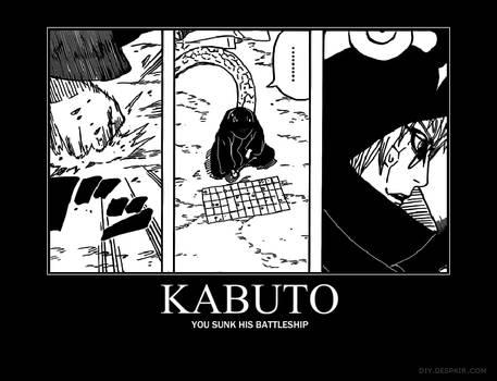 Kabuto Motivational Poster