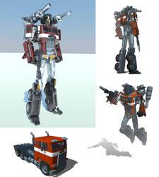 Optimus Prime. Sketchup+Vray by raskayu77