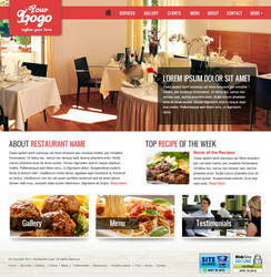 Restaurant Homepages by KougaSoujiro