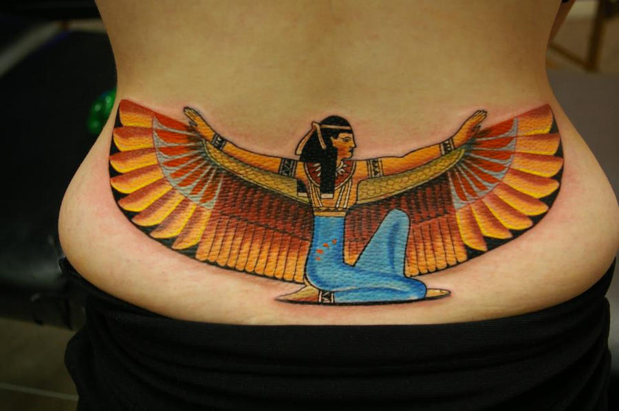 The Goddess Isis by Sandor Konya @ Dublin Ink. by DublinInk
