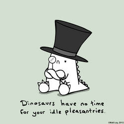 Dinosaur Facts - Posh Totty by DeathByStraws