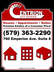 Centrion City Estates - Sign by Fox-Future-Media