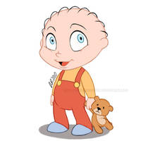 Stewie Griffin Disney version by Do0dlebugdebz