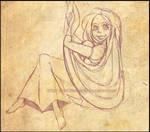 Tangled: Rapunzel sketch