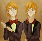 The Mischievous Weasley Twins