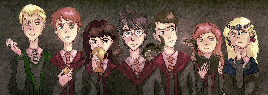 Seven Horcruxes by Do0dlebugdebz