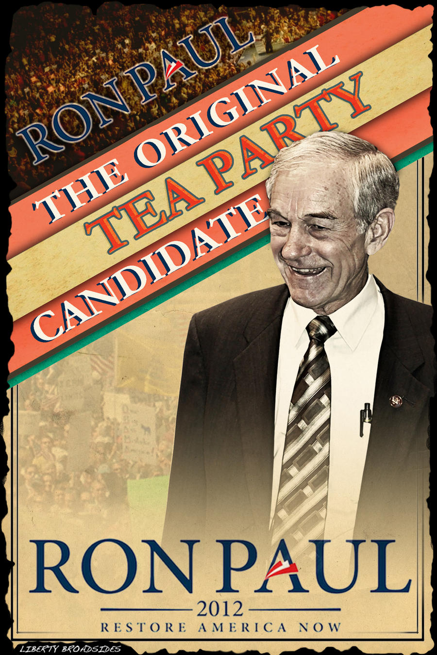 Original Tea Party Candidate by LibertyBroadsides