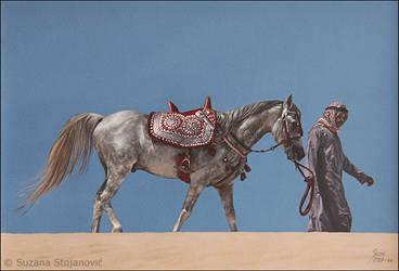 Silence - oil painting on canvas