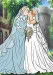 Elsanna wedding drawing 16