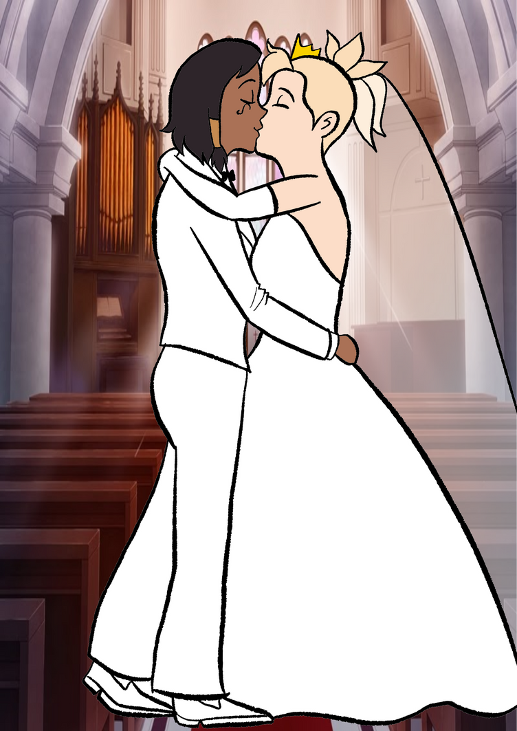 Pharmercy wedding by Arendellecitizen