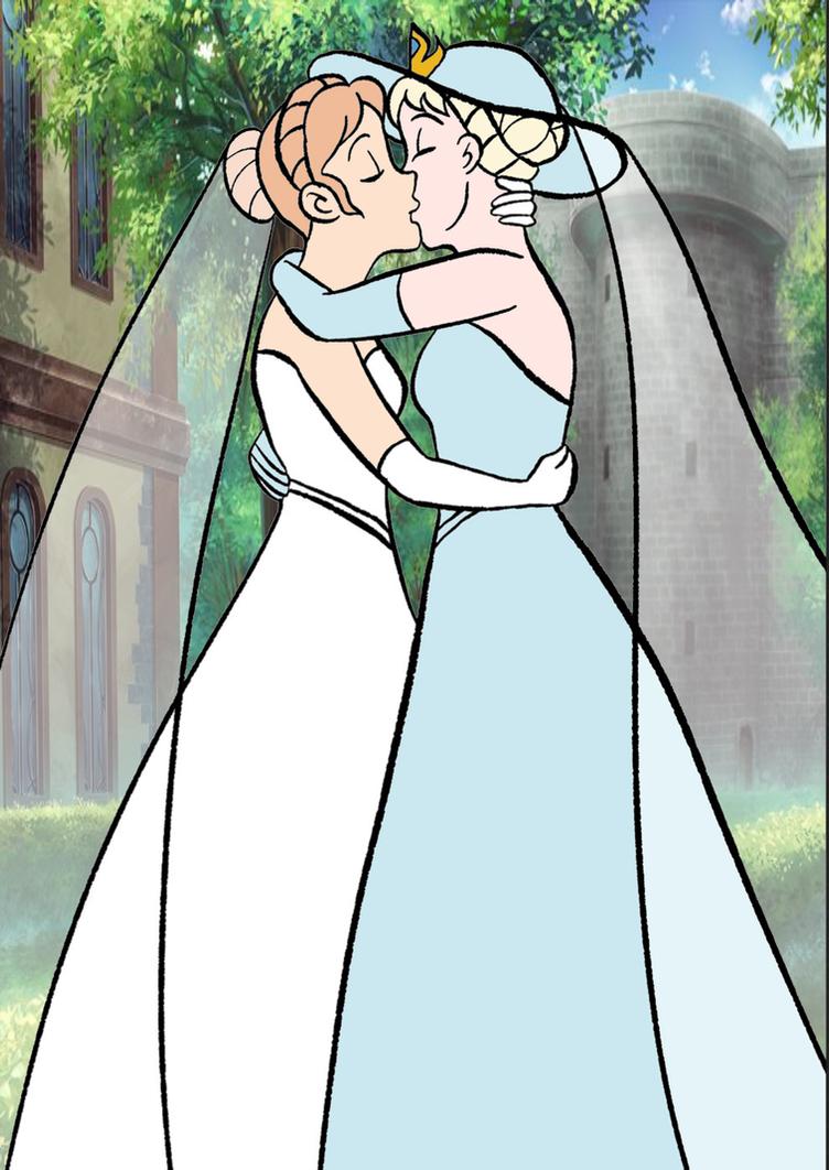 Elsanna wedding 3 by Arendellecitizen