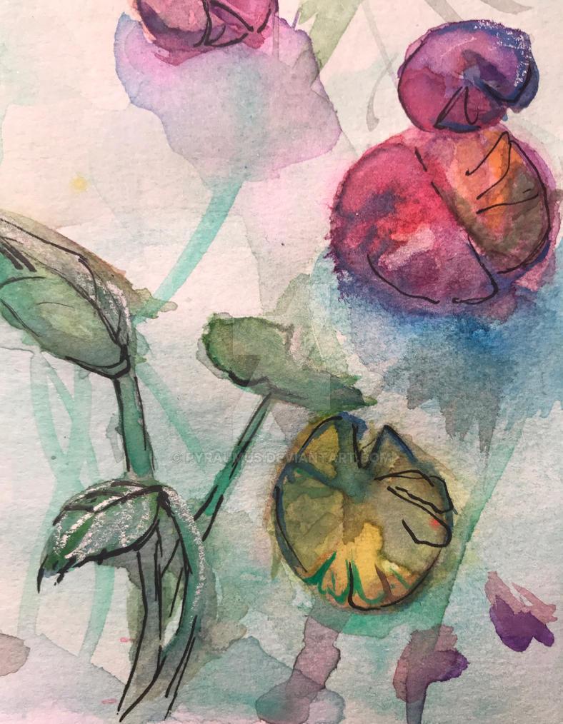 Lily Pond by pyraumus