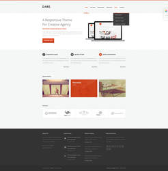 Dare - Clean and Modern HTML Template