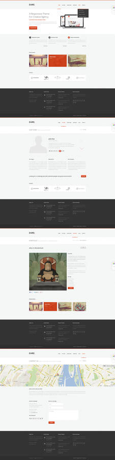Dare - Clean and Modern HTML Template - II