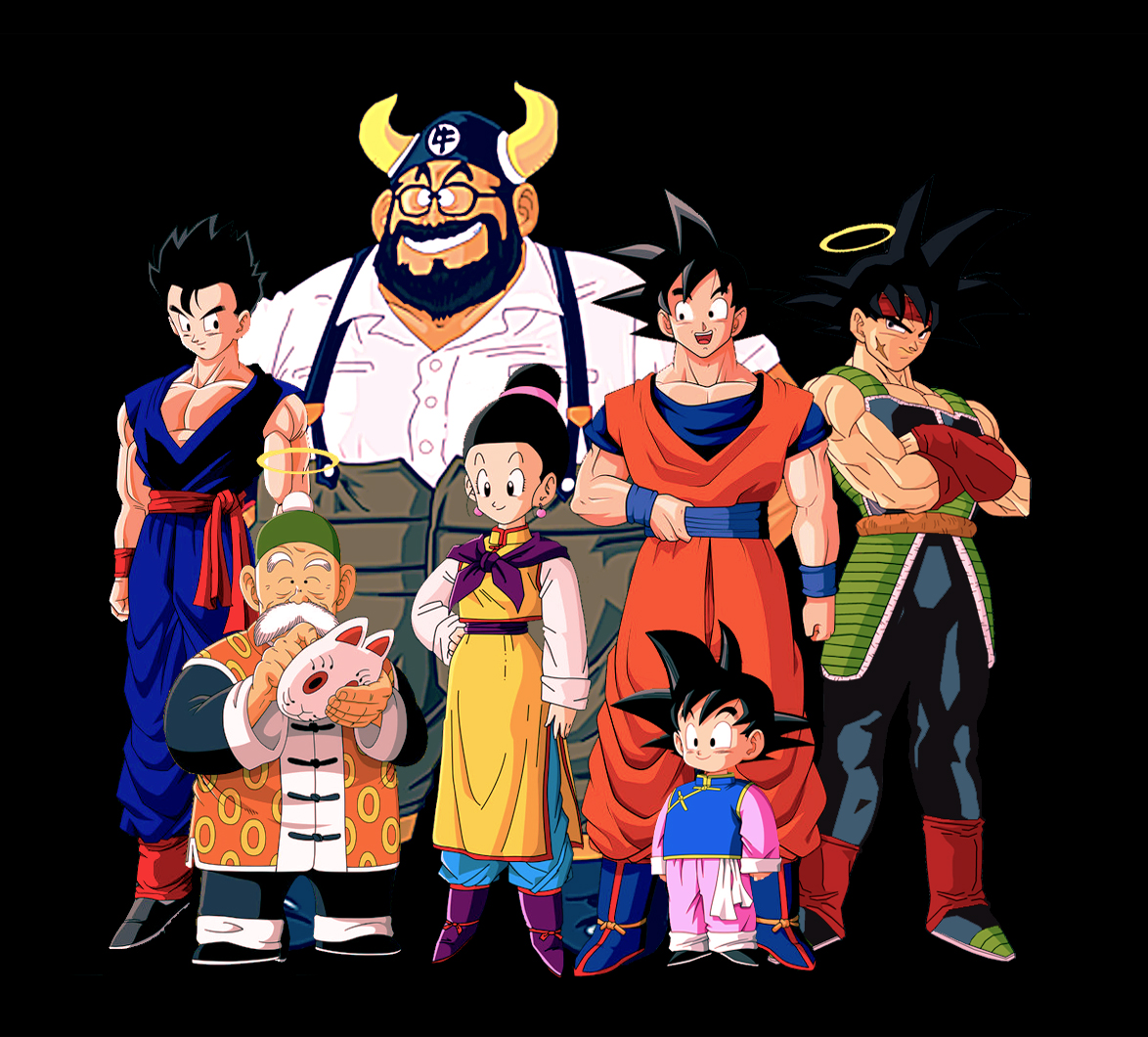 dragon ball z the briefs family